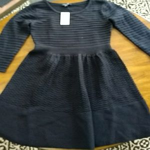 Black M Jessica Simpson sweater dress with texture